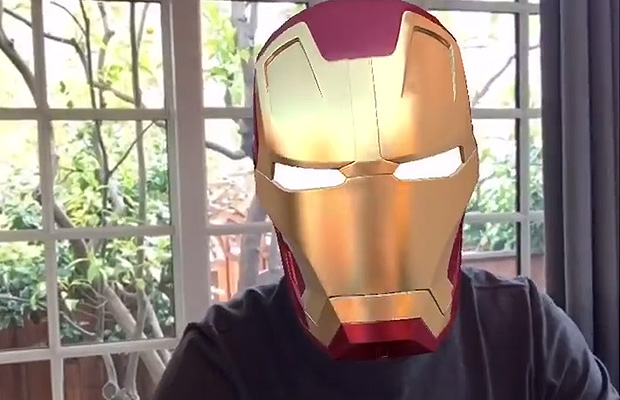 Mark Zucker Iron Man