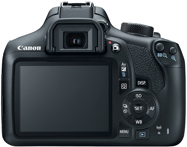 Canon EOS Rebel T6 Back