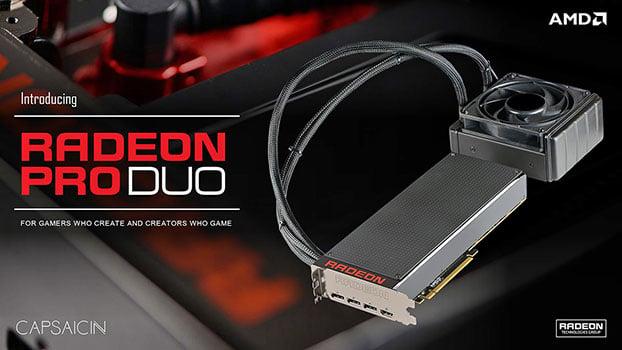 AMD Pro Duo Card