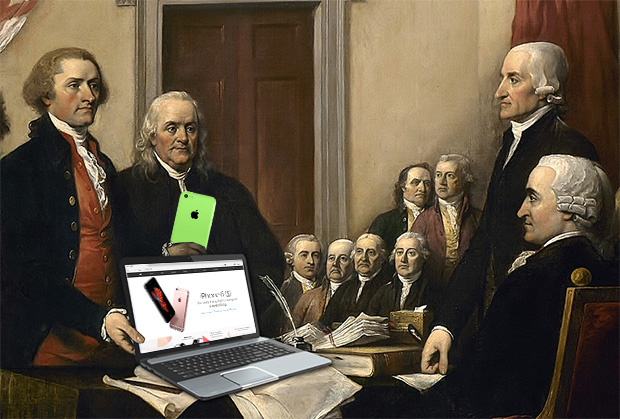 Founding Fathers Apple