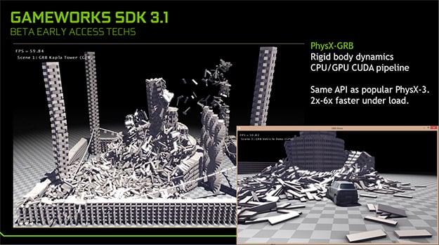 gameworks 31 physx grb