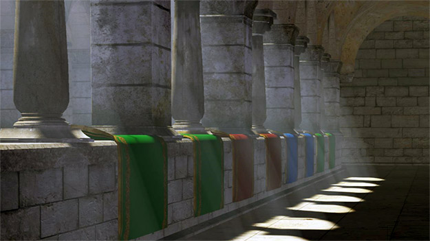 NVIDIA GameWorks SDK Update: High-Quality Shadow & Lighting