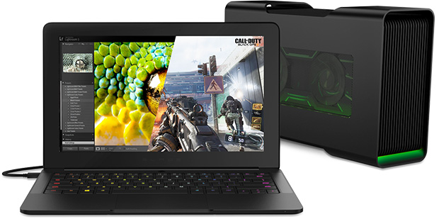 Razer Core and Blade Laptop