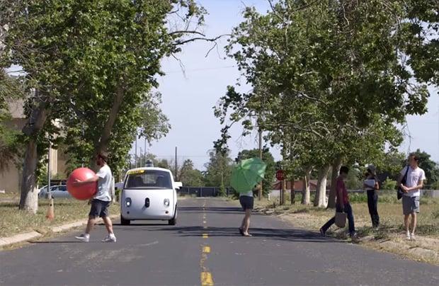 Self-Driving Car in Public
