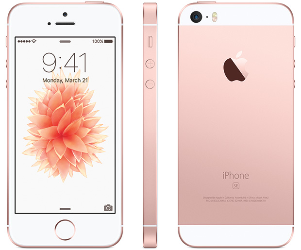 Apple iPhone SE Front and Back