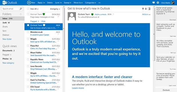 Microsoft Outlookcom