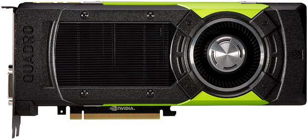 NVIDIA Quadro M6000 24GB Side