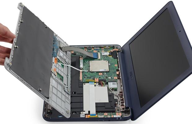 ASUS Chromebook C202 Open