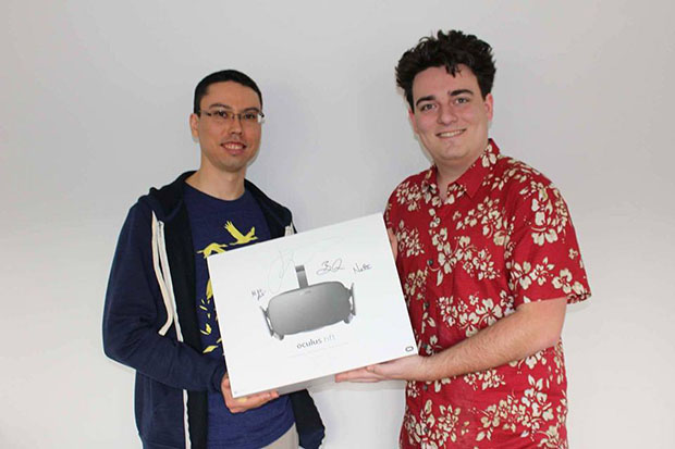 Oculus Rift First Customer
