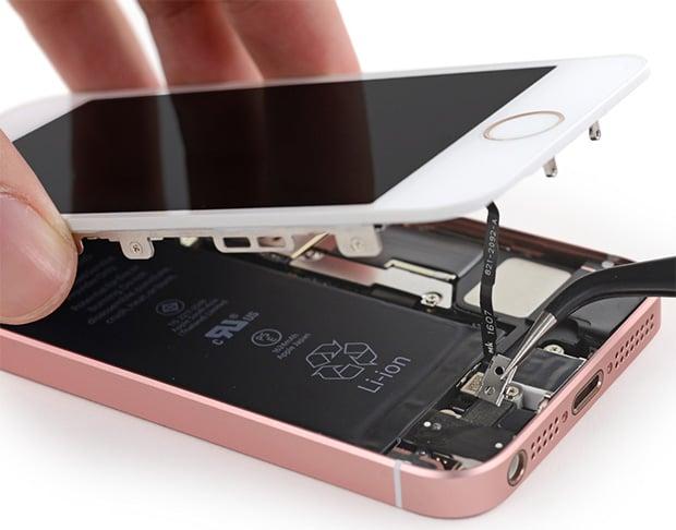 Apple iPhone SE Teardown Reveals Design Using Parts From Multiple ...