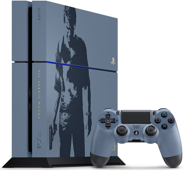 PS4 Unchartered 4 bundle