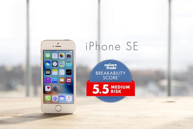 iphone se breakability score squaretrade