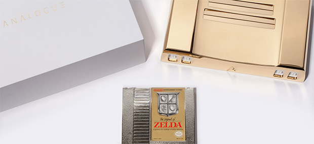 Analogue Nt Gold with Legend of Zelda
