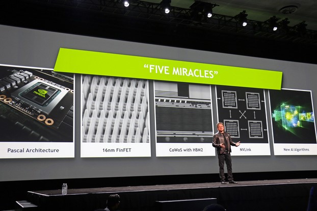 NVIDIA Tesla P100 Pascal GPU Features