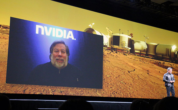 Woz Goes To Mars At GTC2016