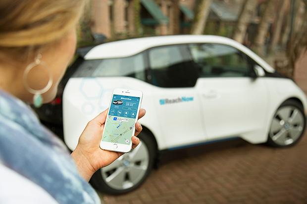 BMW ReachNow App