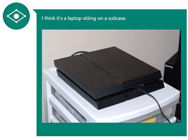 Microsoft Caption Bot PlayStation 4