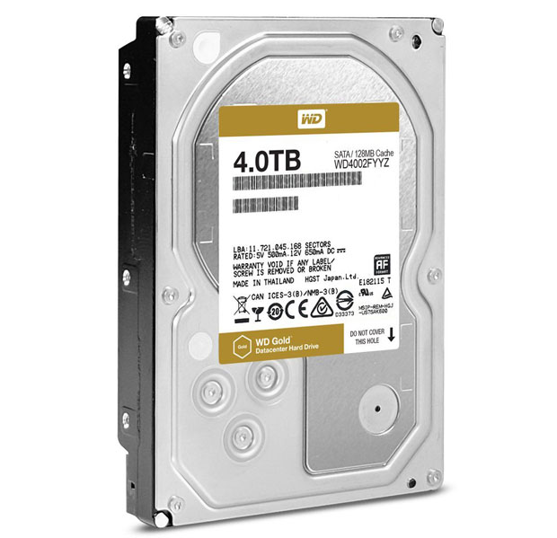 WD Gold drive
