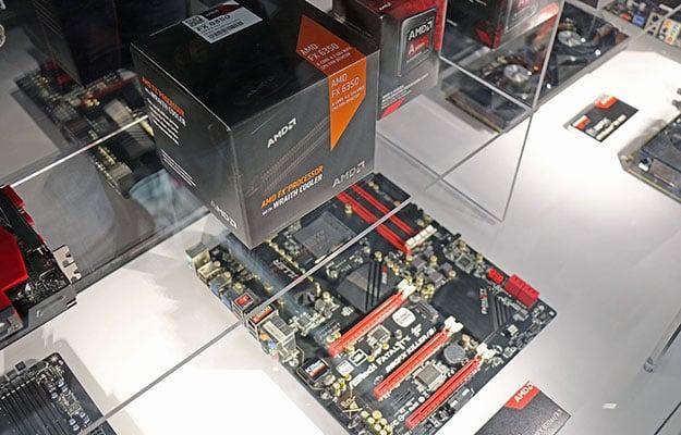 AMD Wraith and FX APUs