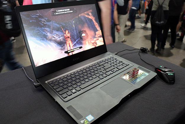 EVGA SC17 Gaming Notebook