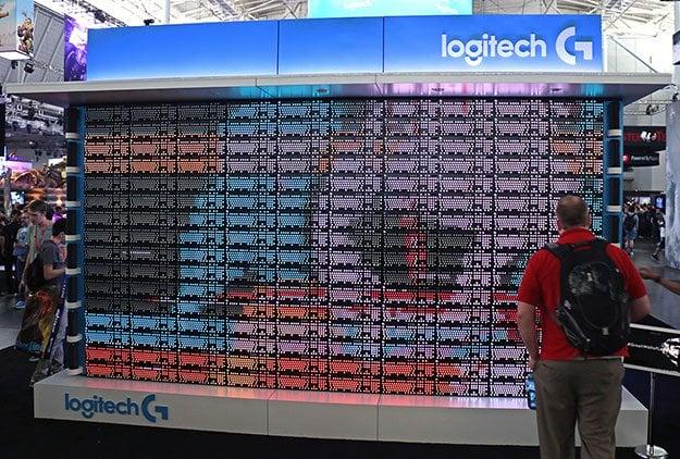 Logitech Keyboard Wall