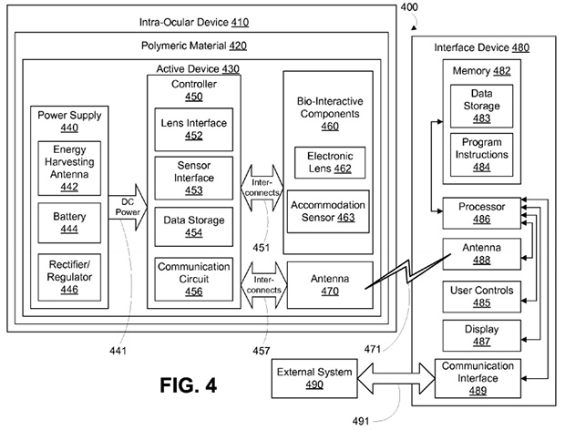Google Eye Injection Patent