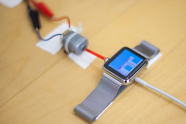 apple watch running windows 95