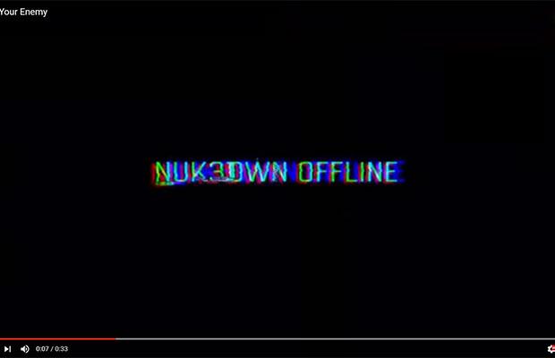 cod nuketown offline message