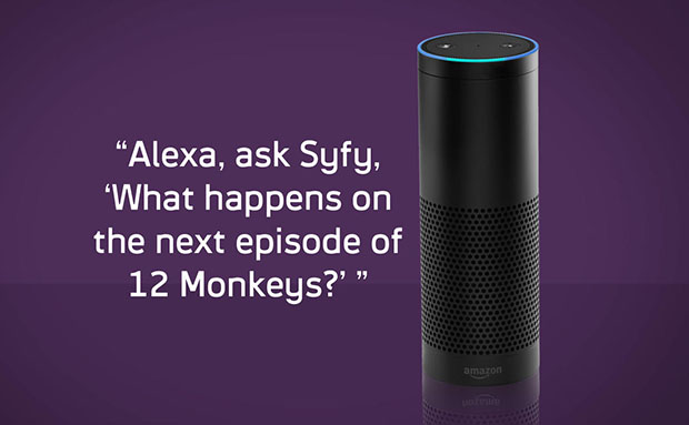 Amazon Echo Syfy