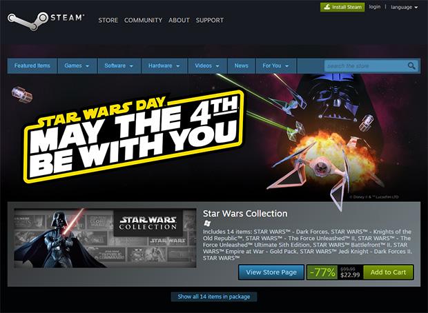 Star Wars Steam Sale