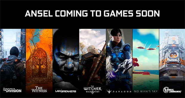NVIDIA Ansel Games