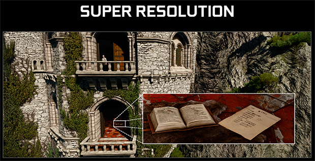 Ansel Super Resolution