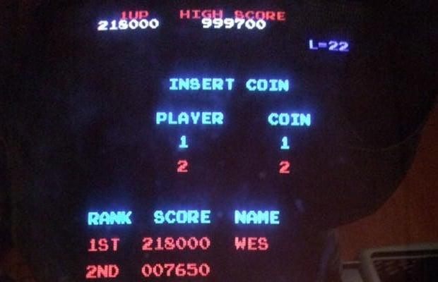 Donkey Kong High Score