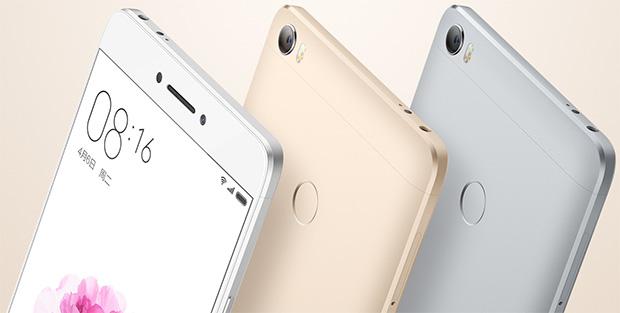 Xiaomi Mi Max Colors