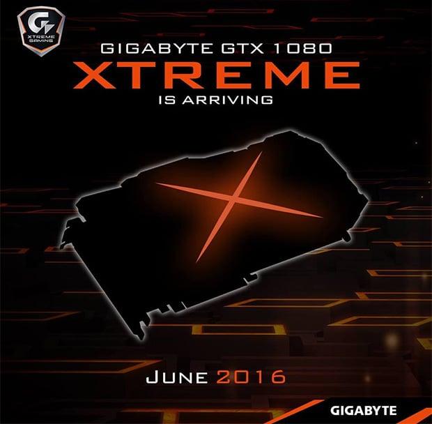 Gigabyte GeForce GTX 1080 Xtreme