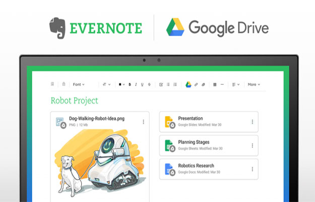evernote google