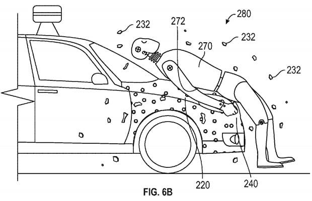 Google Sticky Hood Patent