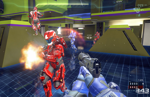 Halo 5 Arena Multiplayer