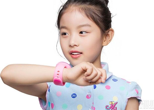Wearing Xiaomi Mi Bunny Smartwatch