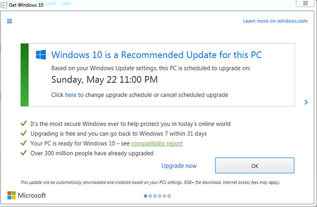 Microsoft Resorts To Tricking Users Into Windows 10 Upgrades