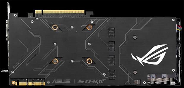 ASUS ROG Strix GTX 1080 Back