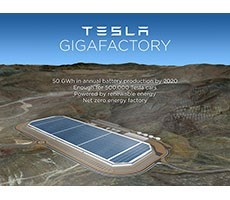 Tesla To Host Grand Opening For Ginormous Gigafactory Model 3 Battery Plant July 29th