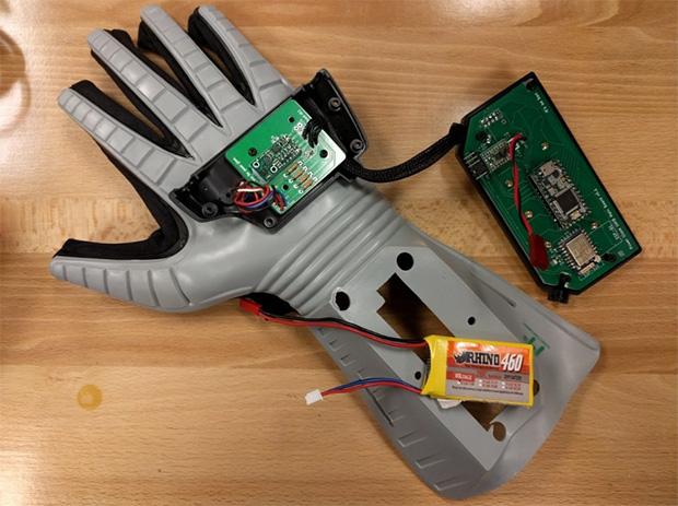 Modded Power Glove