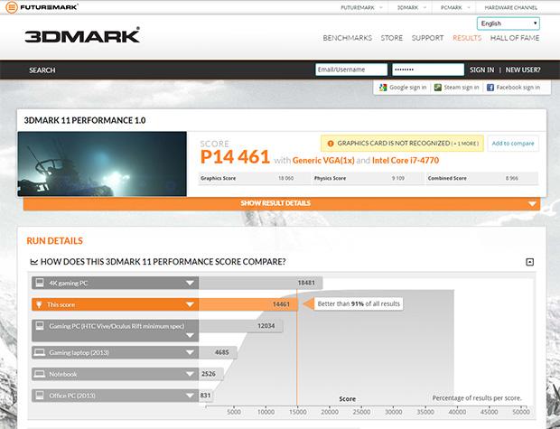 Radeon RX 480 3DMark 11