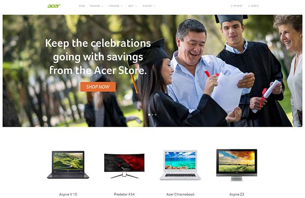 Acer Website