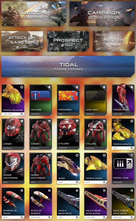 Halo 5 Warzone Fight Contents