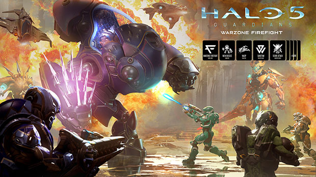 Major Halo 5 Expansion Pack 'Warzone Firefight' Arrives Next Week | HotHardware