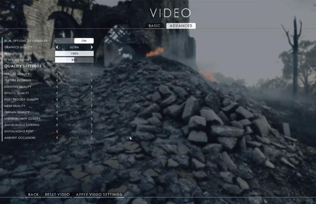 Battlefield DirectX 12