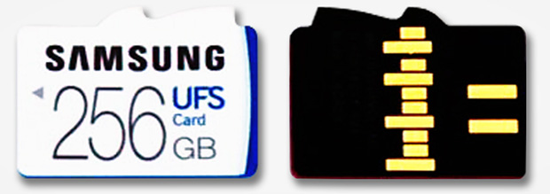 Samsung UFS Front and Back