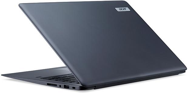 Acer TravelMate X349 Angled